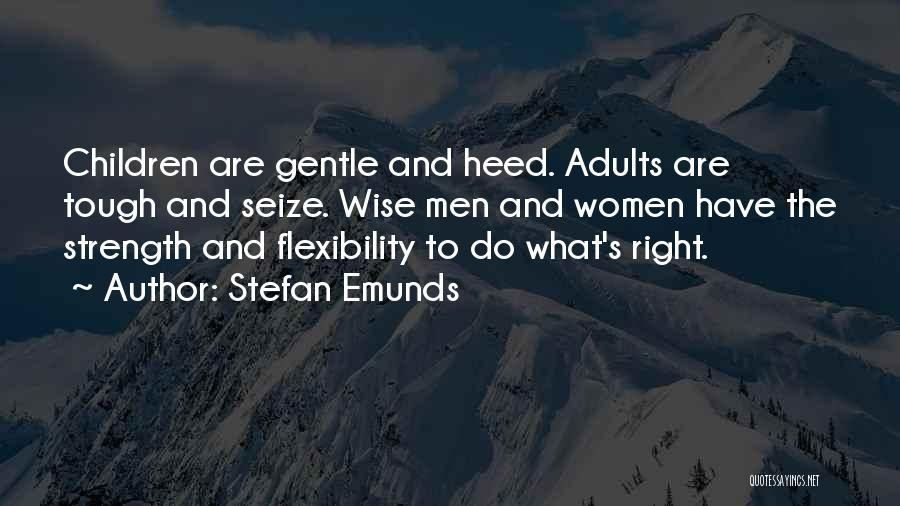 Wisdom Strength And Courage Quotes By Stefan Emunds