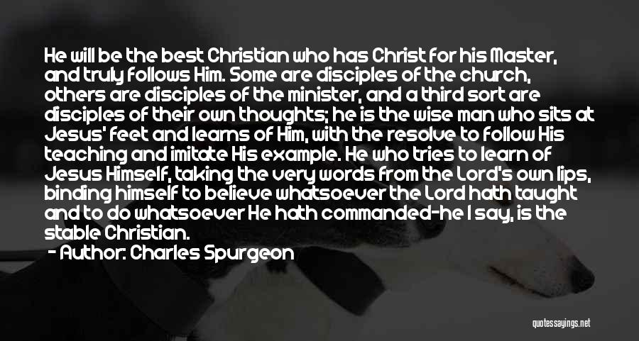Wise Words And Quotes By Charles Spurgeon