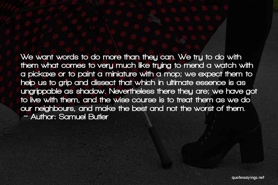 Wise Words And Quotes By Samuel Butler