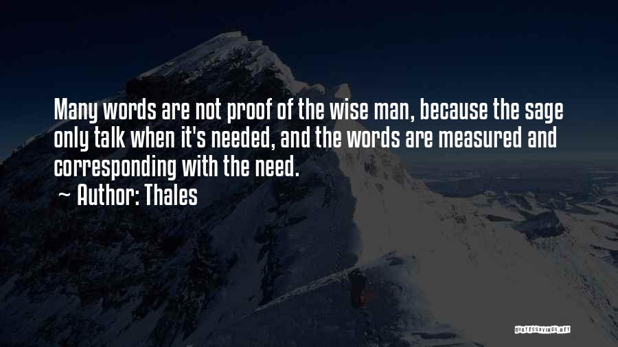 Wise Words And Quotes By Thales