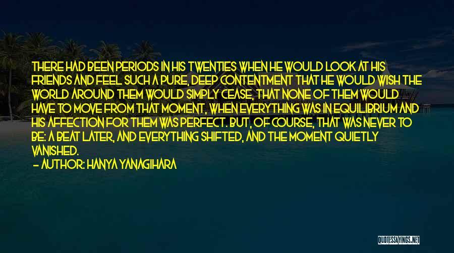Wish Everything Was Perfect Quotes By Hanya Yanagihara