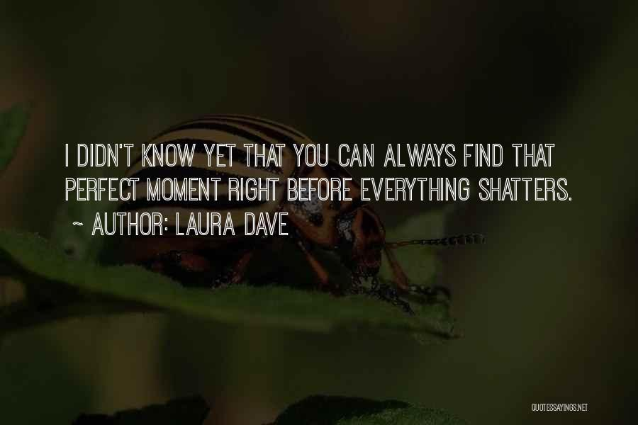 Wish Everything Was Perfect Quotes By Laura Dave