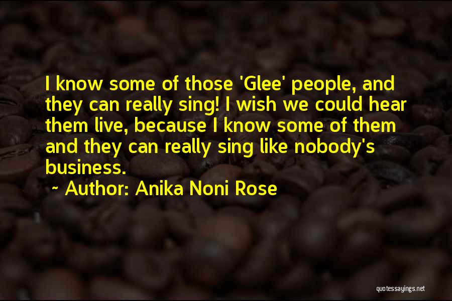 Wish I Could Sing Quotes By Anika Noni Rose