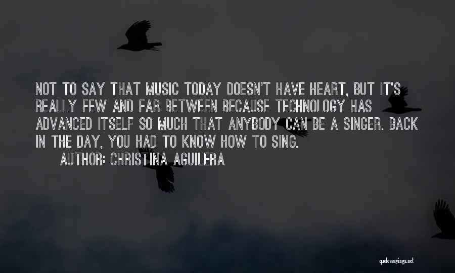 Wish I Could Sing Quotes By Christina Aguilera