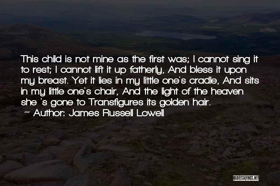 Wish I Could Sing Quotes By James Russell Lowell