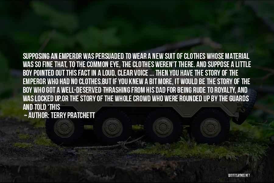 Wish I Knew My Dad Quotes By Terry Pratchett