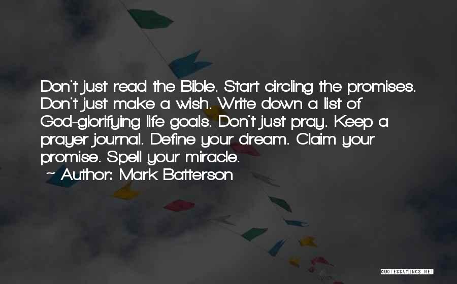 Wish List Quotes By Mark Batterson