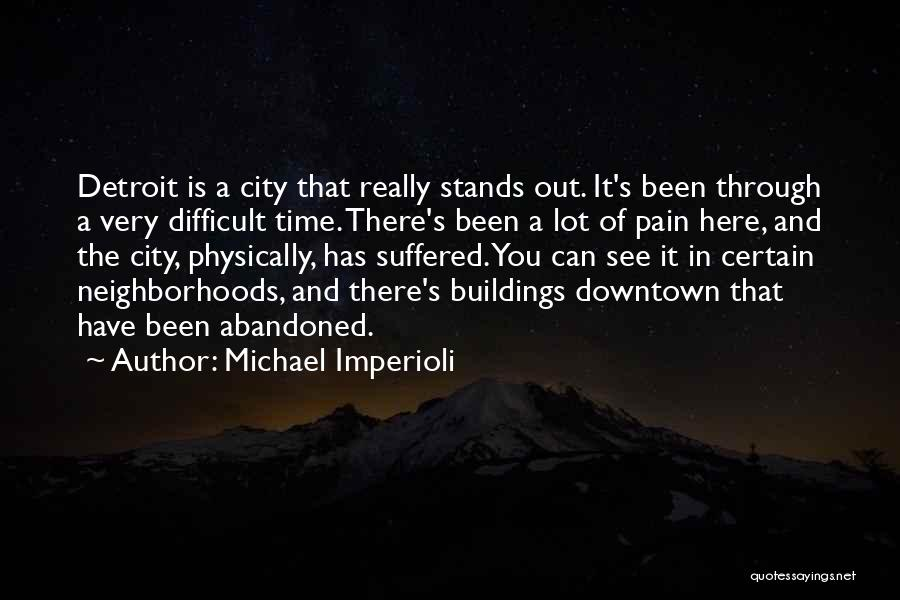 Wish To See You Soon Quotes By Michael Imperioli