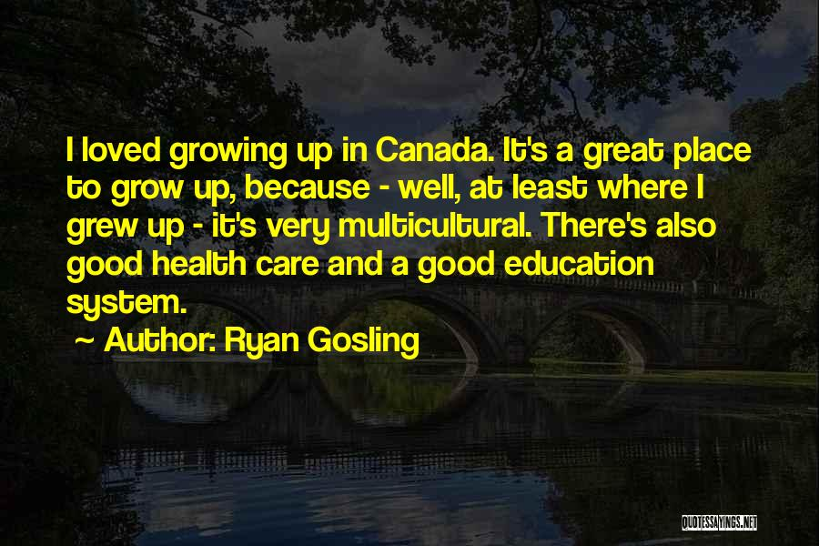Wish You Good Health Quotes By Ryan Gosling