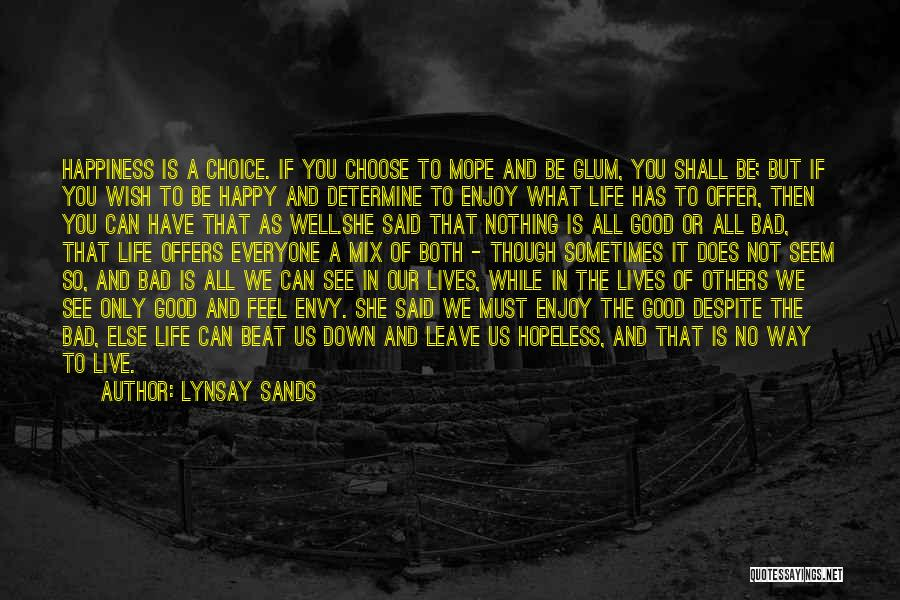 Wish You Nothing But Happiness Quotes By Lynsay Sands