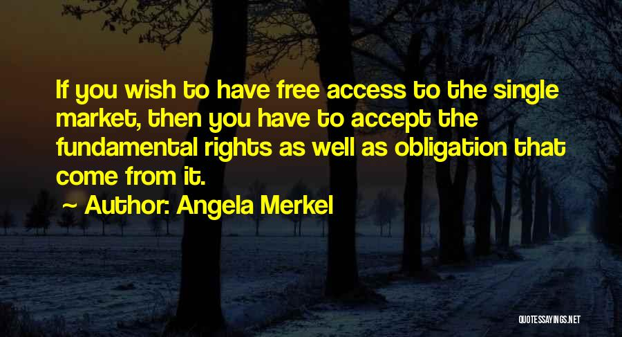 Wish You Well Quotes By Angela Merkel