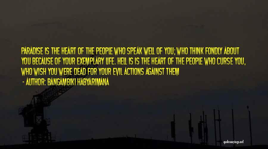Wish You Well Quotes By Bangambiki Habyarimana