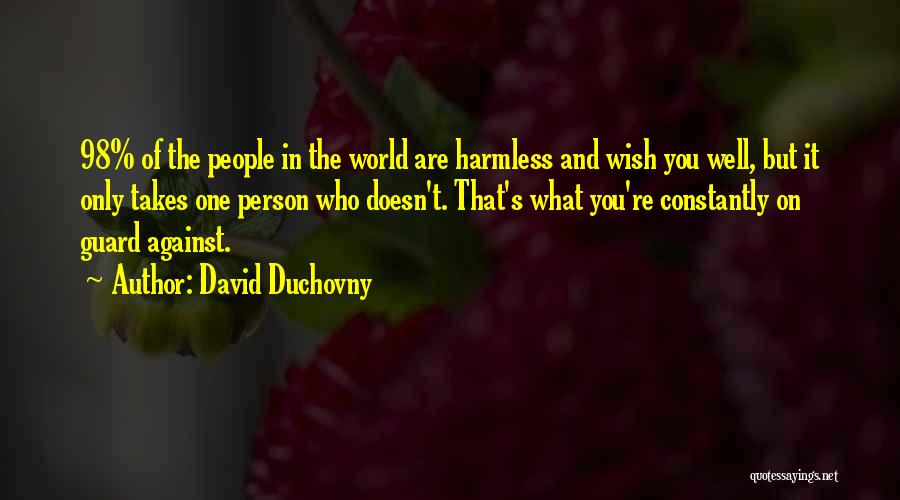 Wish You Well Quotes By David Duchovny