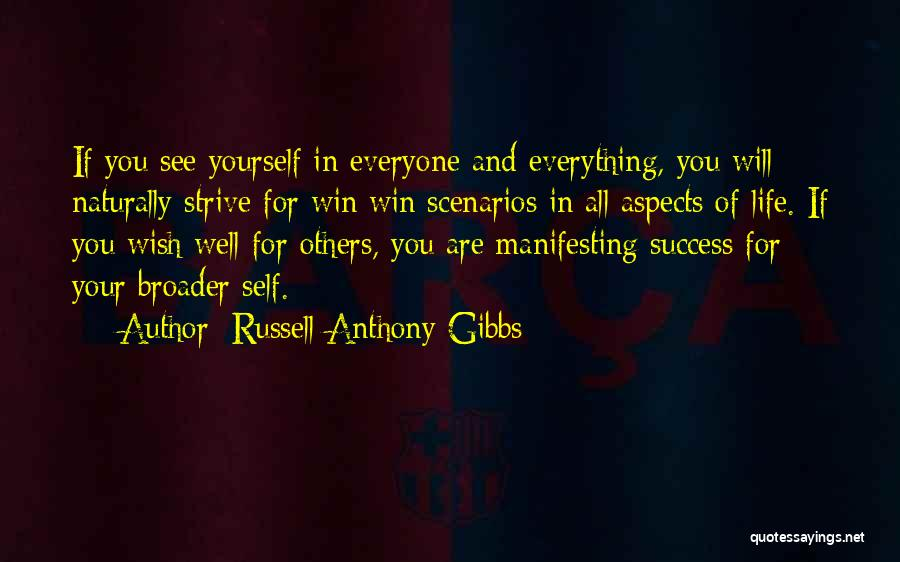 Wish You Well Quotes By Russell Anthony Gibbs