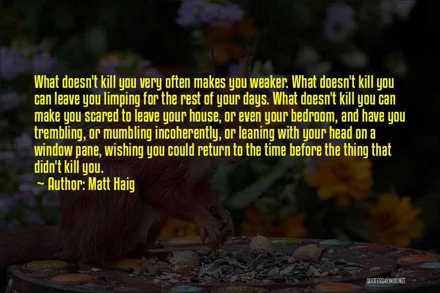 Wishing For More Time Quotes By Matt Haig