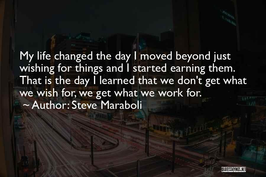 Wishing Success In Life Quotes By Steve Maraboli