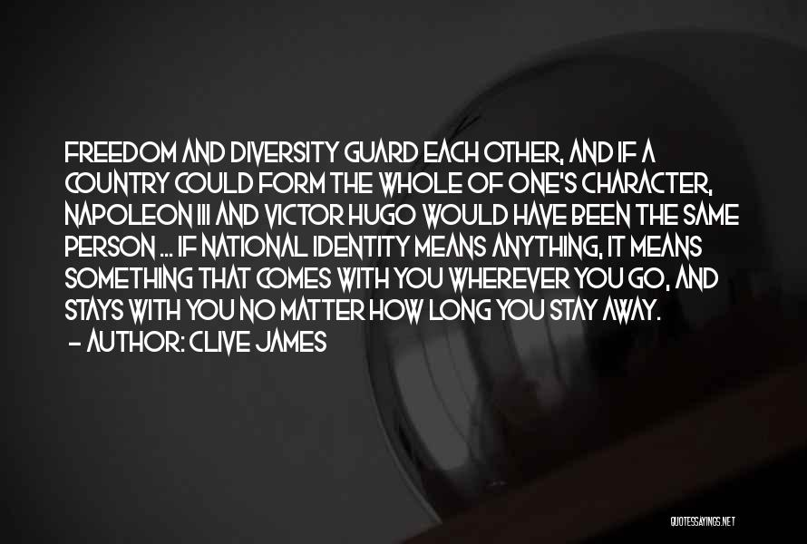 With Each Other Quotes By Clive James