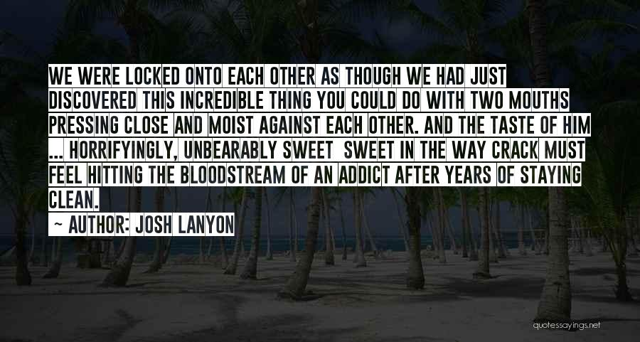 With Each Other Quotes By Josh Lanyon