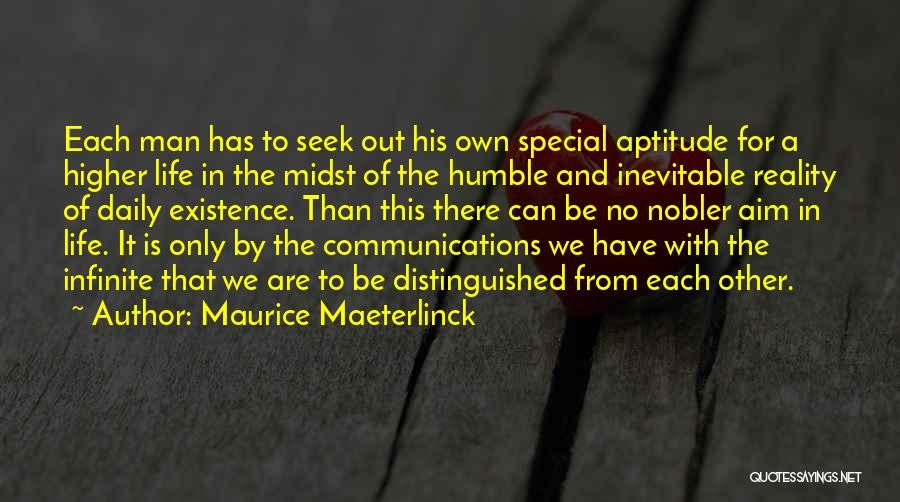 With Each Other Quotes By Maurice Maeterlinck
