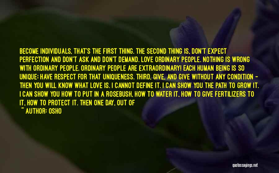 Without Love You Have Nothing Quotes By Osho