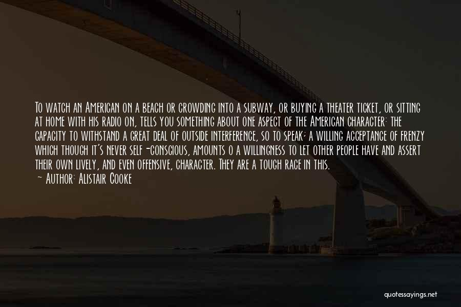 Withstand Quotes By Alistair Cooke