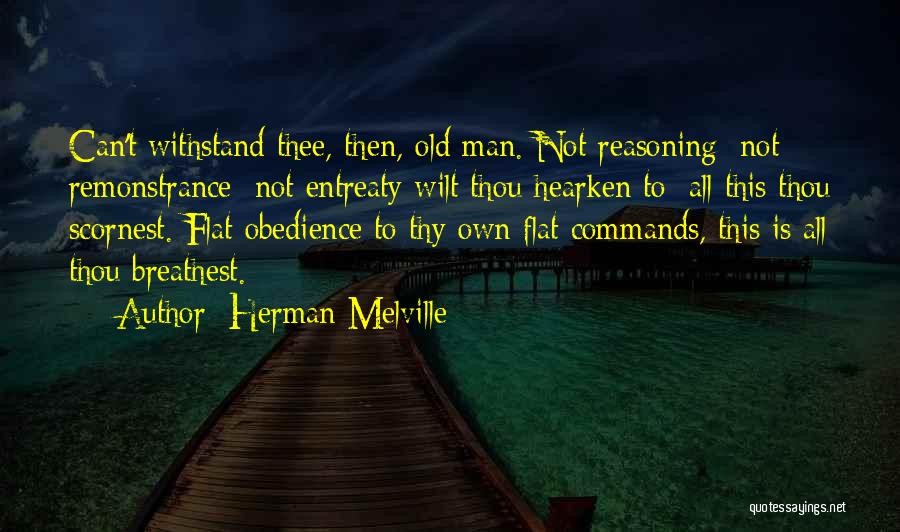 Withstand Quotes By Herman Melville