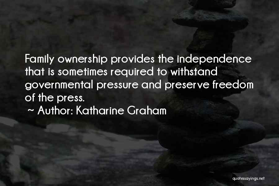 Withstand Quotes By Katharine Graham