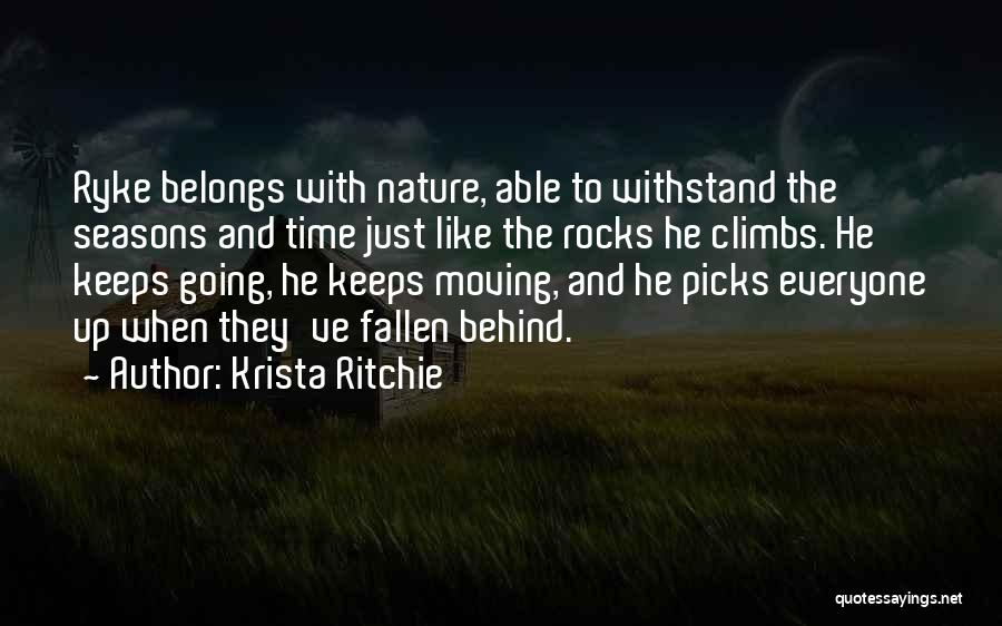 Withstand Quotes By Krista Ritchie