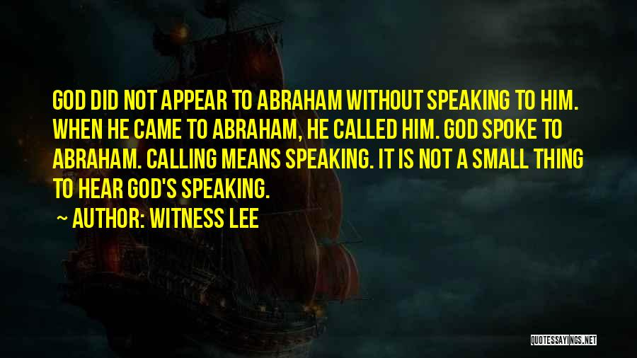 Witness Lee Quotes 1096704