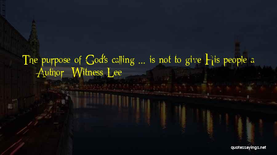 Witness Lee Quotes 1896036