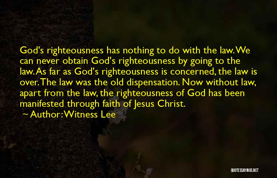 Witness Lee Quotes 267204