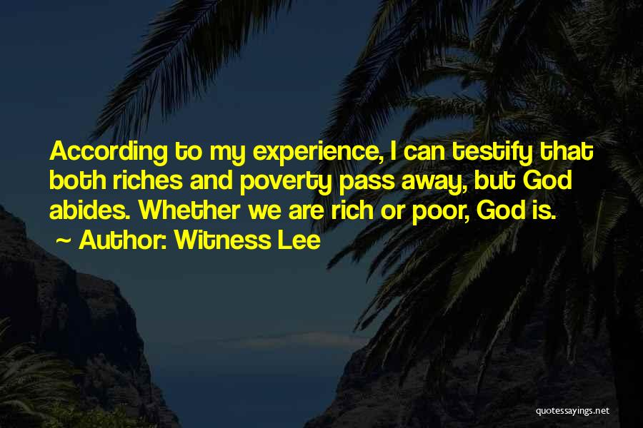 Witness Lee Quotes 776332