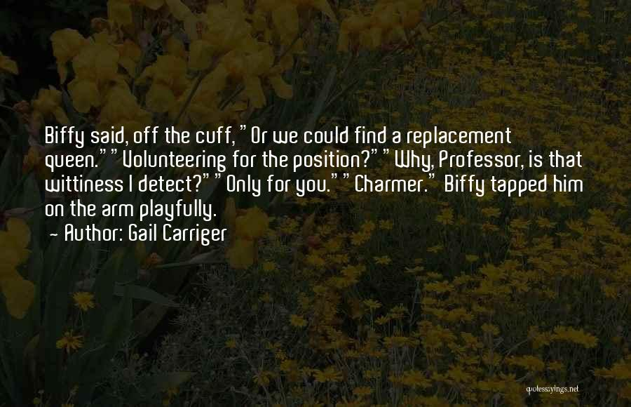 Wittiness Quotes By Gail Carriger