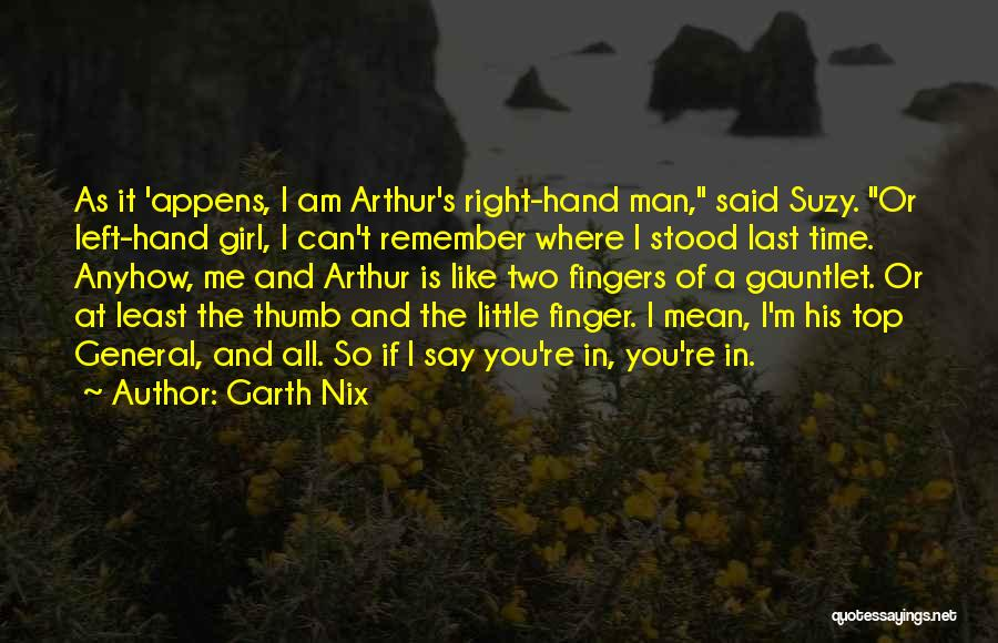 Witty Girl Quotes By Garth Nix