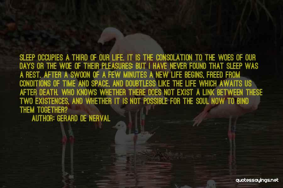 Woes Quotes By Gerard De Nerval