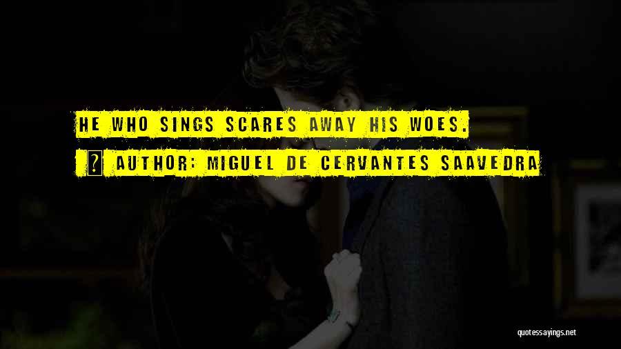 Woes Quotes By Miguel De Cervantes Saavedra