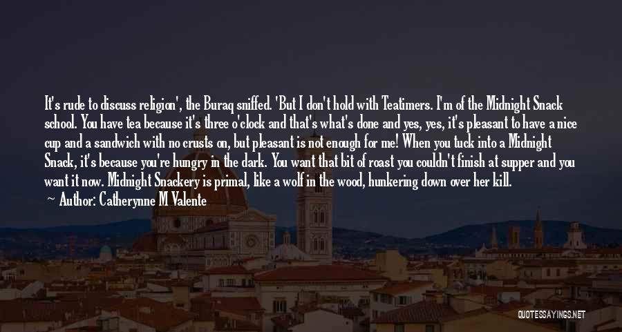 Wolf O'donnell Quotes By Catherynne M Valente