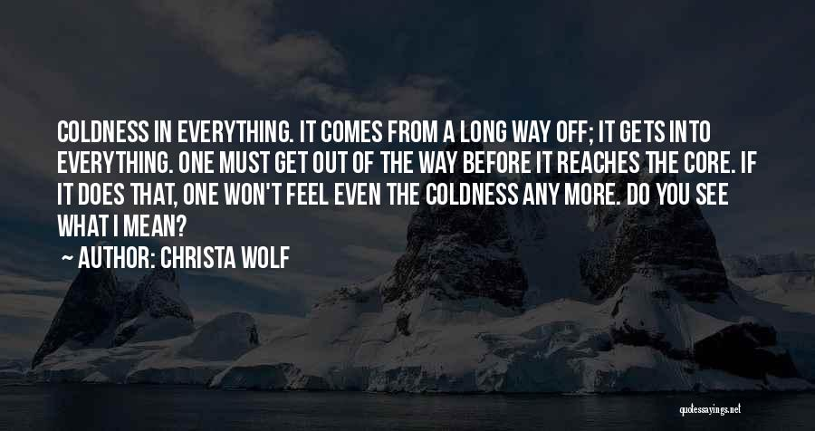 Wolf O'donnell Quotes By Christa Wolf