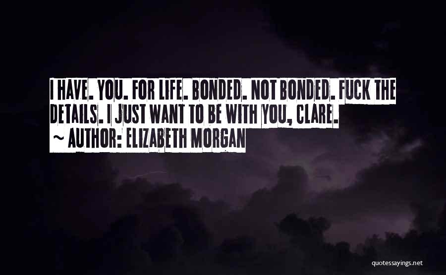 Wolf O'donnell Quotes By Elizabeth Morgan