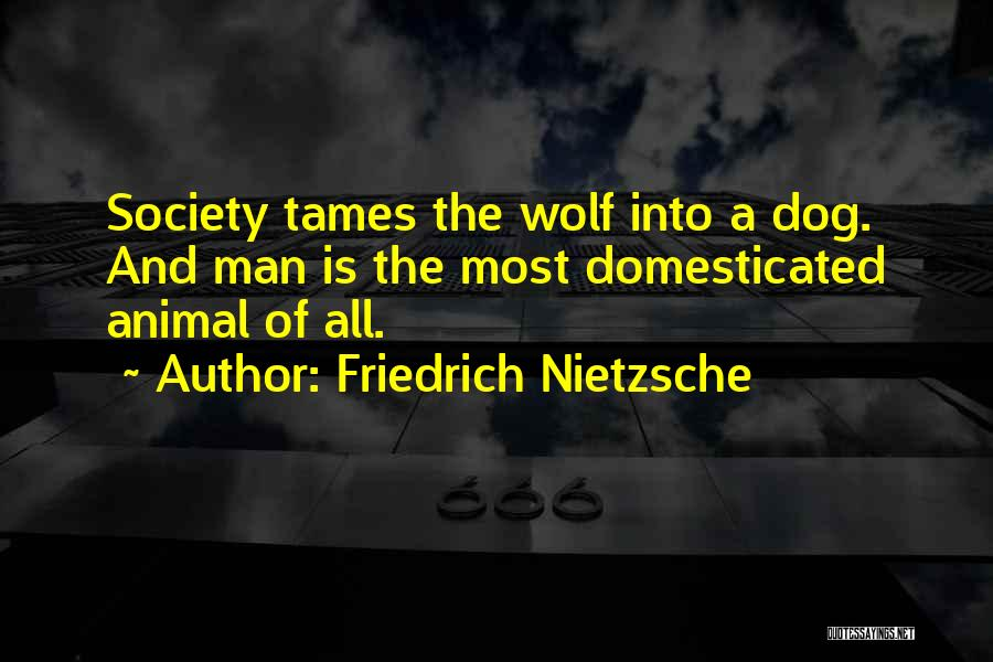Wolf O'donnell Quotes By Friedrich Nietzsche
