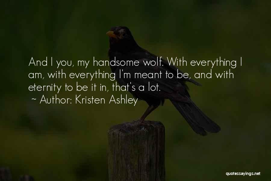 Wolf O'donnell Quotes By Kristen Ashley
