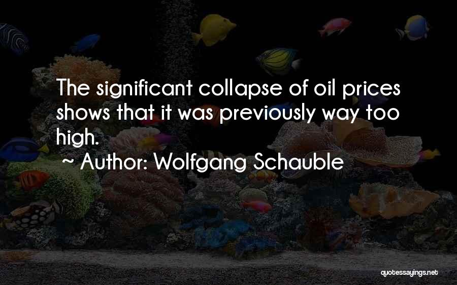 Wolfgang Quotes By Wolfgang Schauble