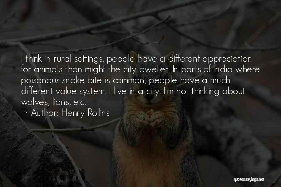 Wolves And Lions Quotes By Henry Rollins