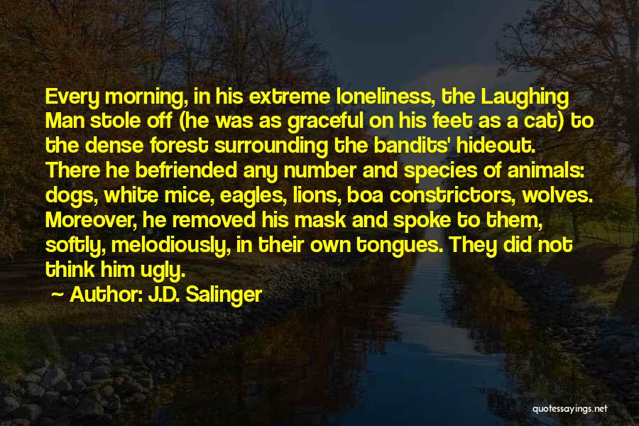 Wolves And Lions Quotes By J.D. Salinger