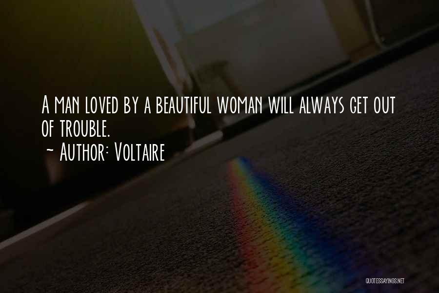 Woman Love Man Quotes By Voltaire