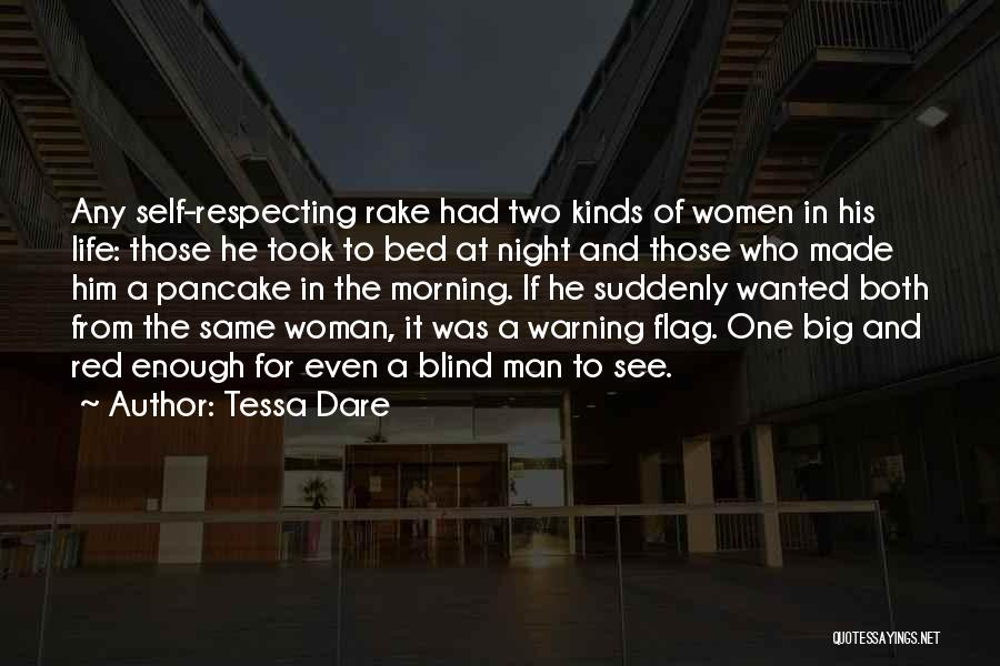 Woman Respecting Man Quotes By Tessa Dare