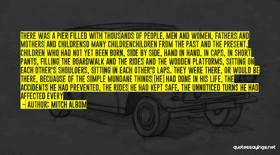 Women's Day Short Quotes By Mitch Albom