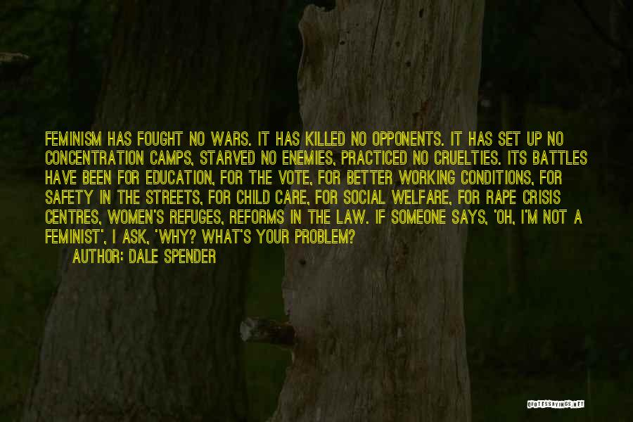 Women's Rights To Education Quotes By Dale Spender