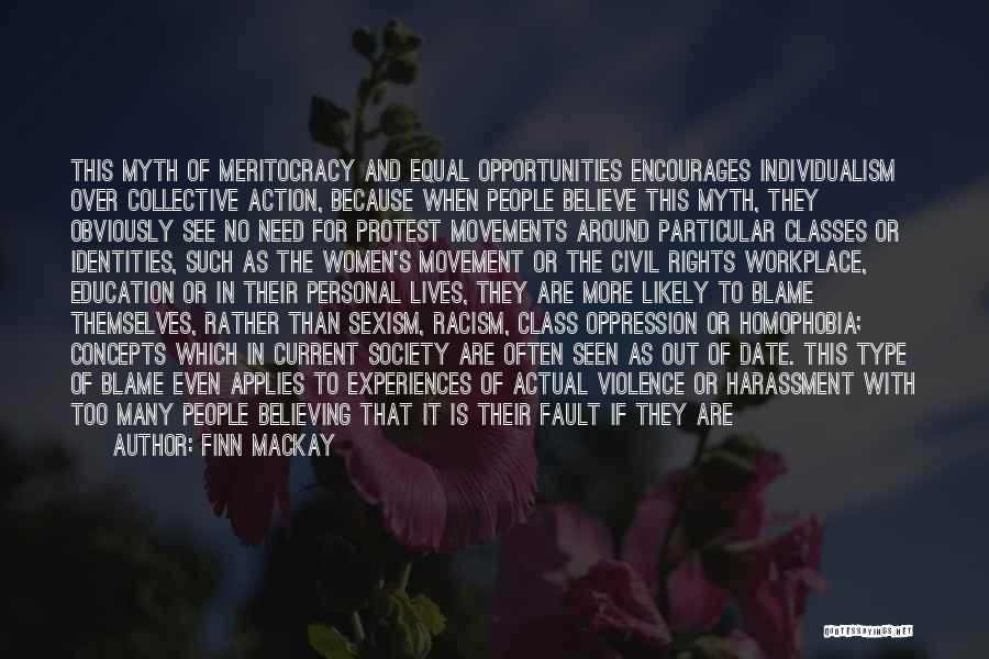 Women's Rights To Education Quotes By Finn Mackay