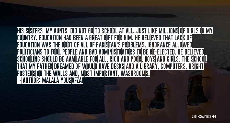 Women's Rights To Education Quotes By Malala Yousafzai